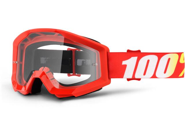 100% Strata Anti Fog Clear Goggles Youths furnace